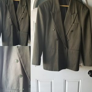Retro 80s Men's suit coat